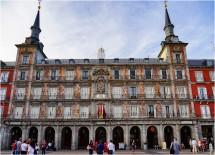plaza mayor a Madrid