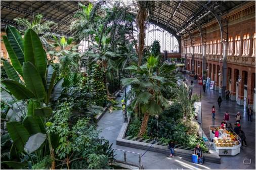 La gare Atocha