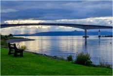 Le pont de l'ile de Skye