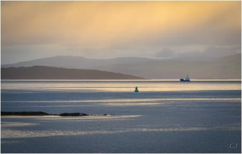 Sunset à Skye